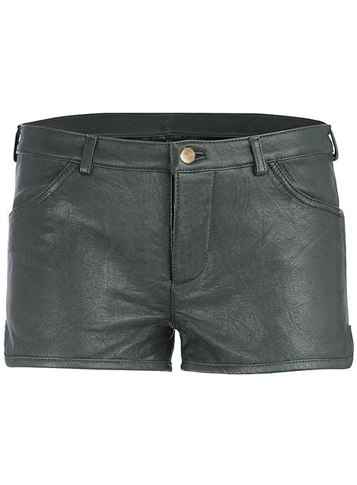 Leather Cargo Shorts Style # 371