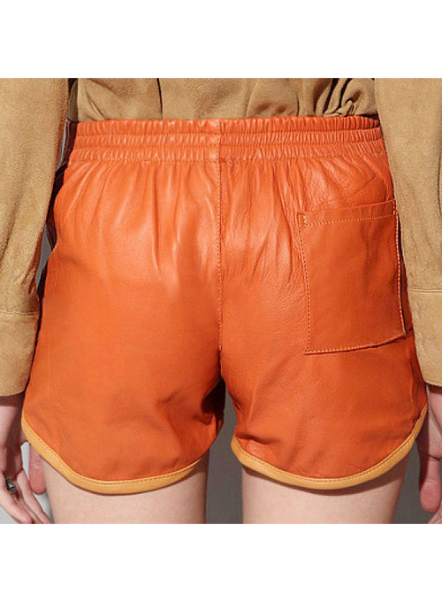 Leather Cargo Shorts Style # 373