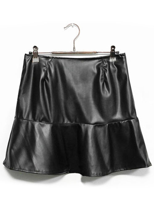 Luster Leather Skirt - # 166 - 50 Colors