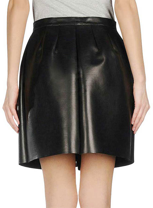 Maxine Leather Skirt - # 400