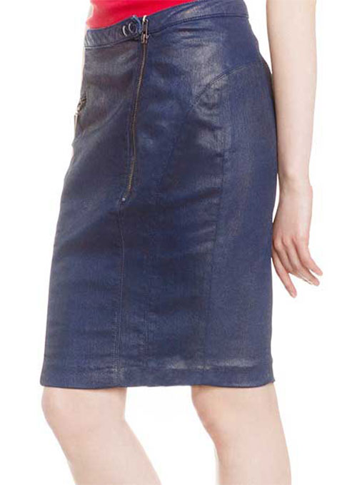 Moonbasa Leather Skirt - # 437