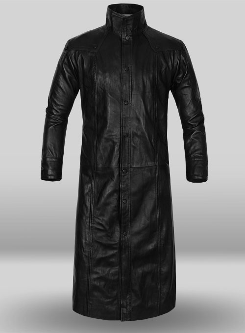 The Avengers Nick Fury Leather Trench Coat Leathercult