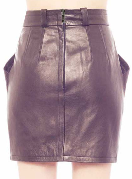 Paradox Leather Skirt - # 173