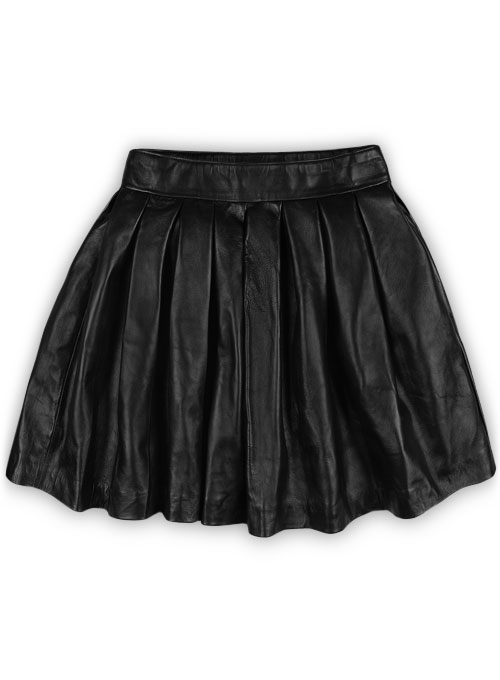 Pleated skirt leather – Modern trending things photo blog