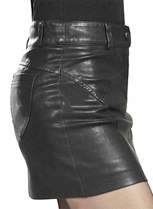 Rider Leather Skirt - # 161