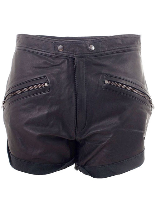 Leather Cargo Shorts Style # 351