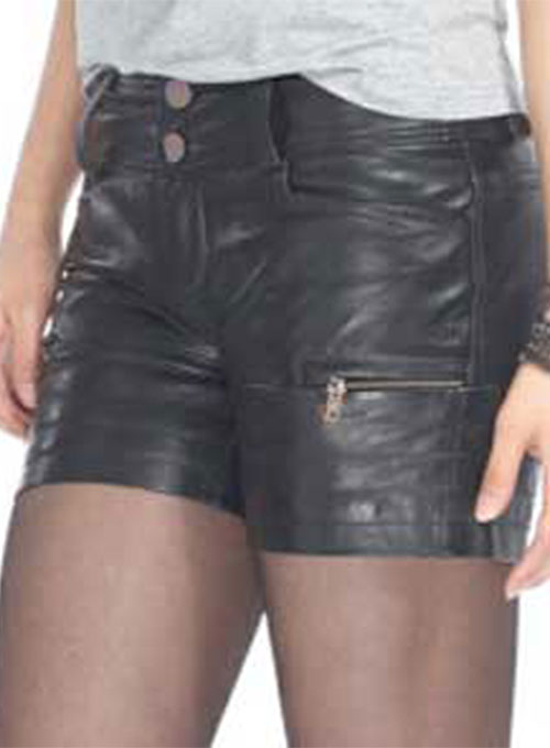 Leather Cargo Shorts Style # 361 - 50 Colors