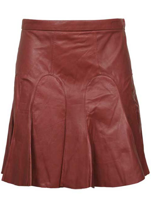 Tulip Leather Skirt - # 145