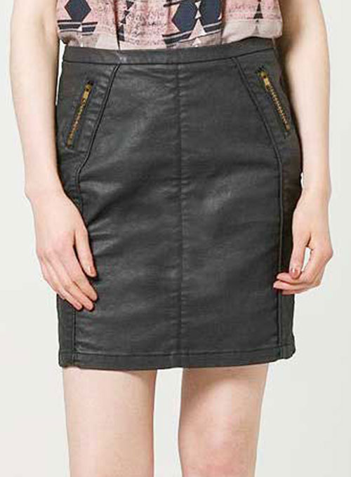 Versus Leather Skirt - # 197 : LeatherCult.com, Leather Jeans ...