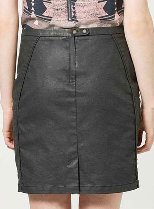Versus Leather Skirt - # 197