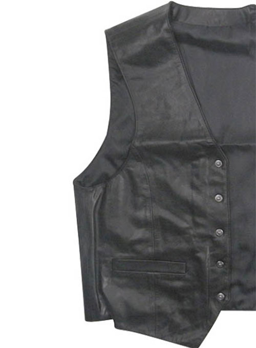 Leather Vest # 302 - Click Image to Close