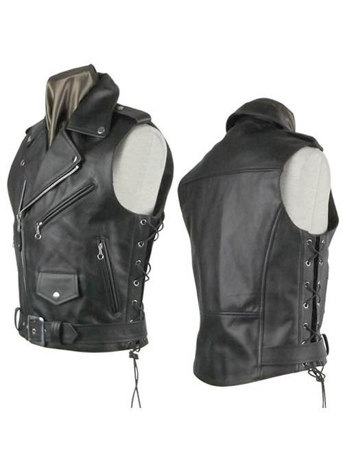 Leather Biker Vest 308 Leathercult Com Leather Jeans