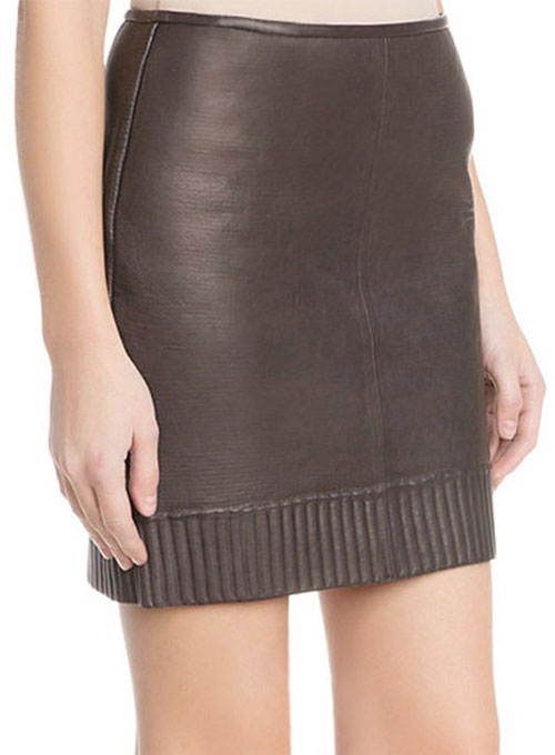 Vivette Leather Skirt - # 480