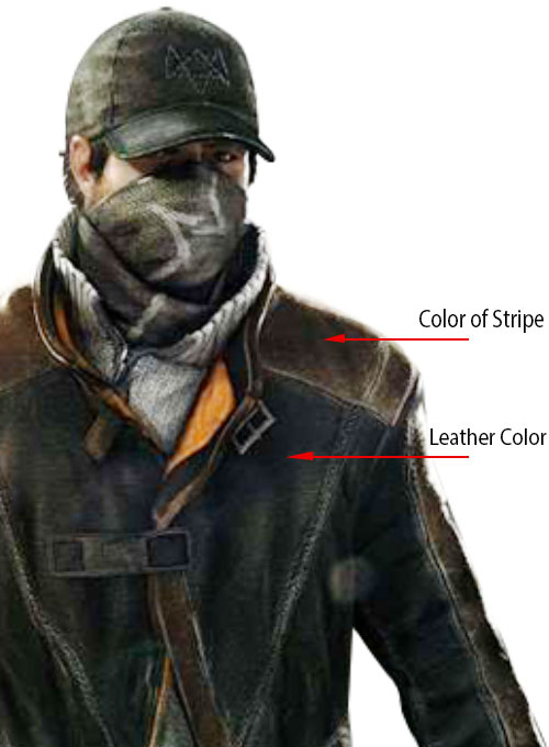 Aiden Pearce Watch Dog Leather Trench Coat Leathercult