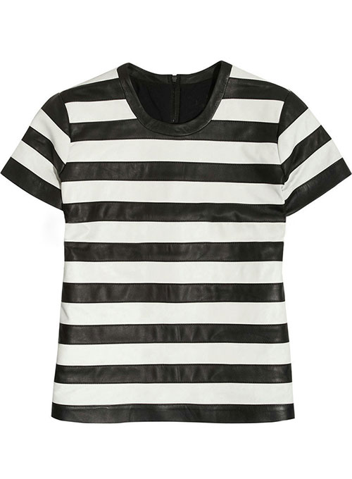 Zebra Stripe Leather Top Style # 62