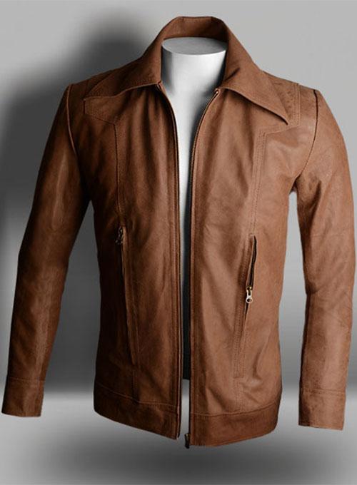 Lt Tan Hide X Men Days Of Future Past Leather Jacket